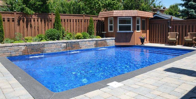pool deck in Kansas City